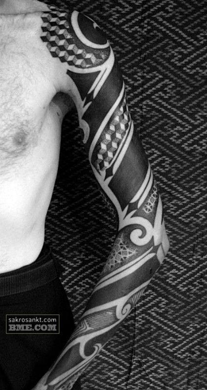 40 Bold Blackwork Tattoos Blackwork Tattoo Tattoo Designs Men Band Tattoo Designs