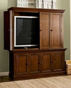 DAWES FLAT-PANEL TV ARMOIRE SUITE Discontinued at Pottery Barn ...