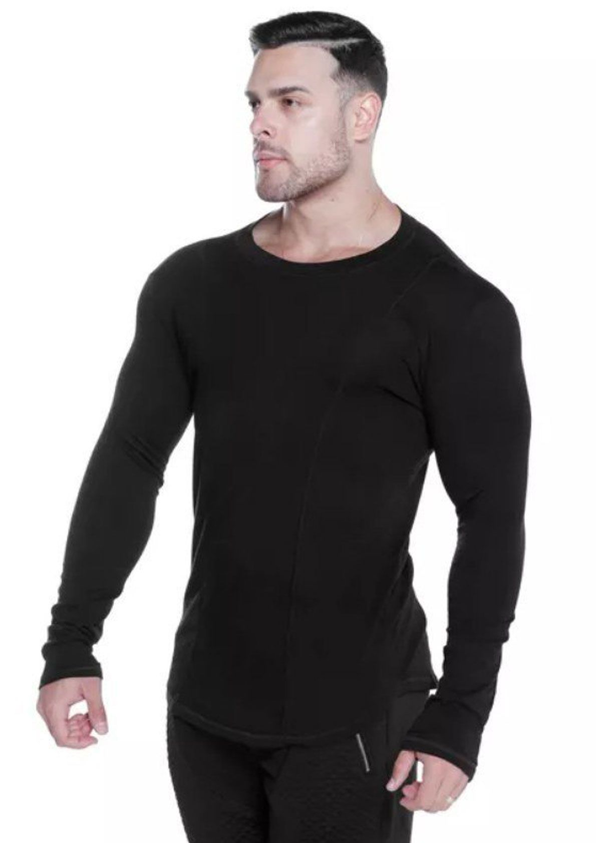 ce0a5367f6a Long Sleeve Gym T Shirt in 2019