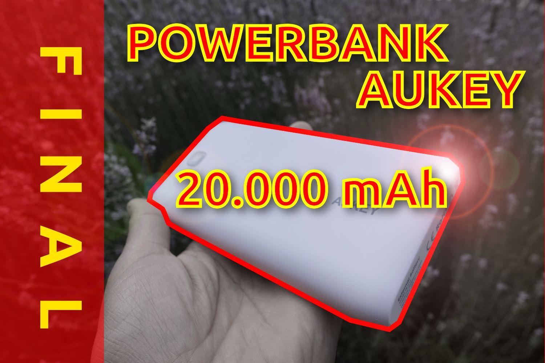 Mola: Batería Aukey de 20.000 mAh: Unboxing y review en español