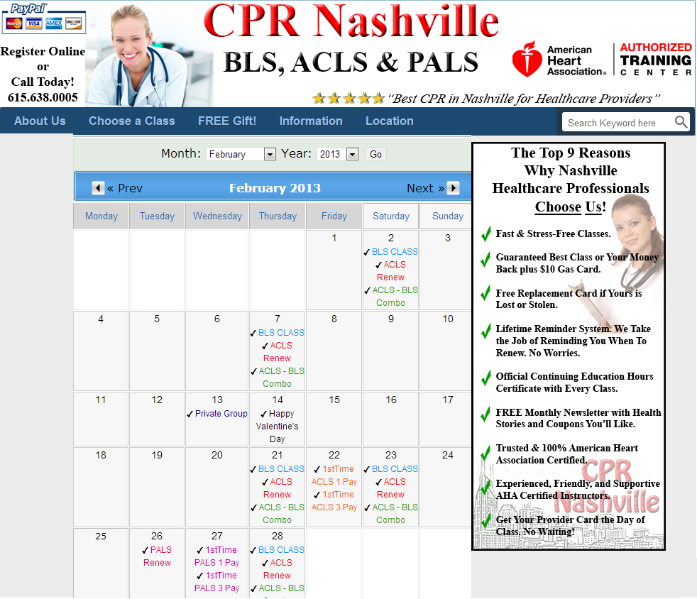 Bls cpr recertification nashville basic life support bls cpr become acls certified in one day advanced cardiac life support class in nashville stress free american heart association in nashville tn 1betcityfo Gallery