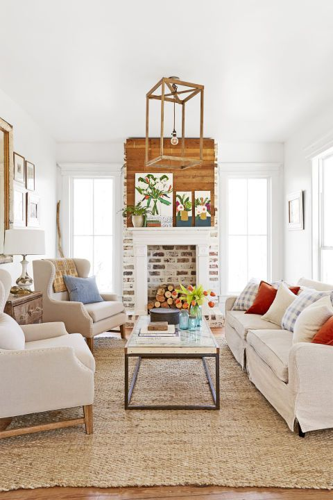 30 Ways to Decorate Your Living Room With White is part of Neutral Living Room Tan - These are gorgeous!