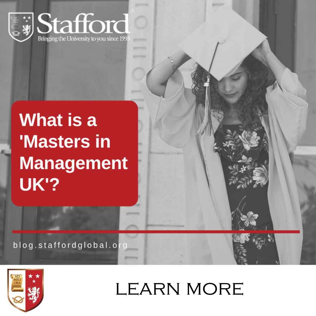 What is a 'Masters in Management UK'? Masters in
