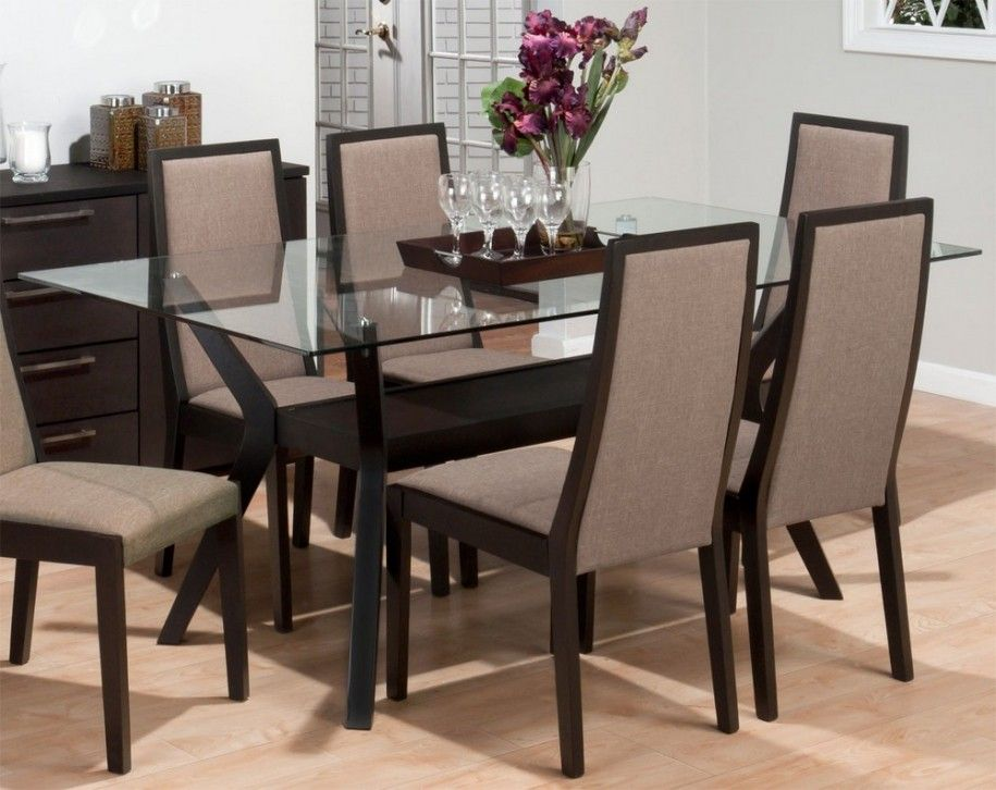 Awesome Dining Table With Glass Top Wonderful Rectangular Tempered