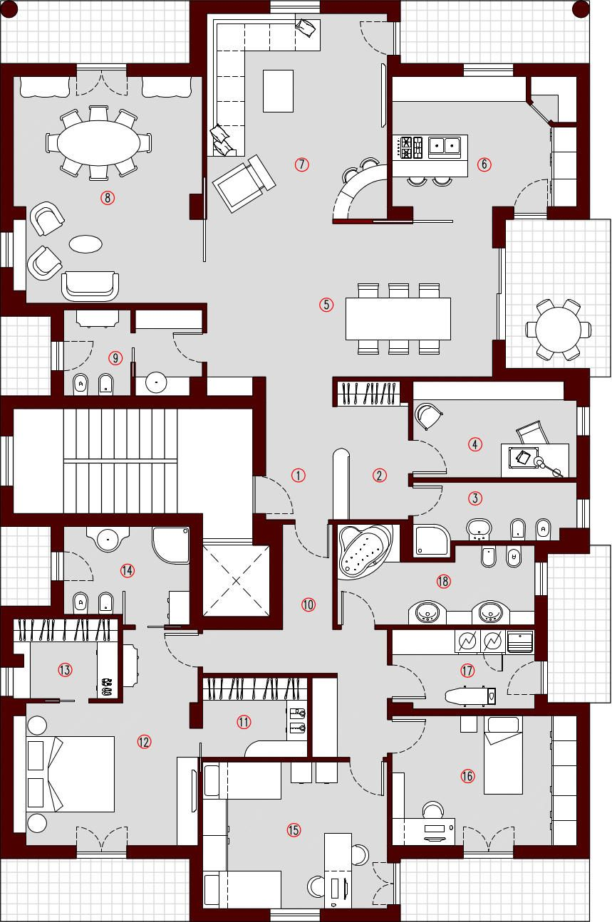 Planimetria Casa 180 Mq Planimetrie Di Case Planimetrie
