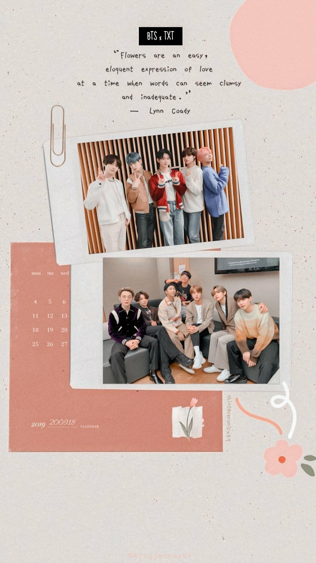 Txt X Bts Wallpapers Penyimpanan Foto Konser Gambar Bts and txt wallpaper aesthetic