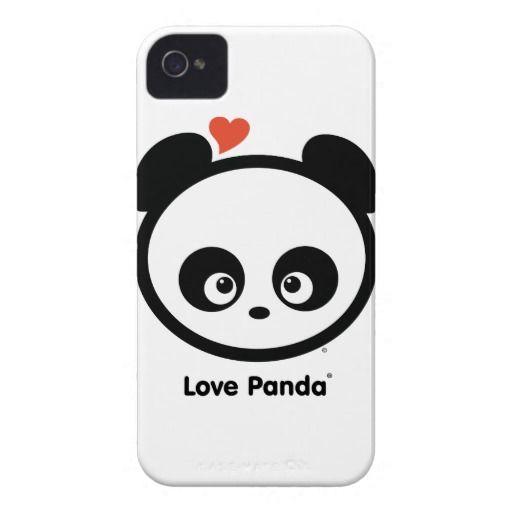 Love Panda® iPhone 4/4S Custom CaseMate ID™
