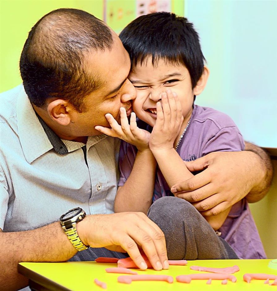 This Dad Took On The Task To Learn About Autism Deal With His Sons Condition He Has Now Set Up A Learning Centre For Children