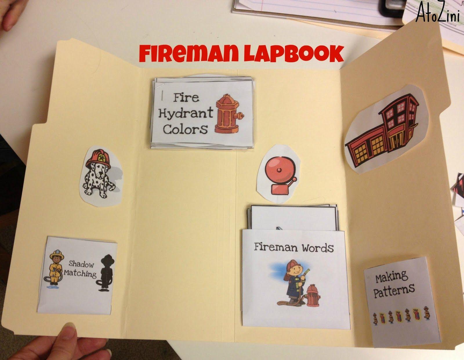 Atozini Kindergarten Fireman Study