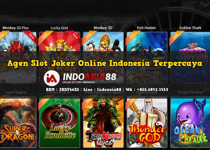 agen slot game joker