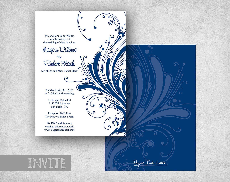 Formal Event Invitation Cards Birthday birthday flash cards