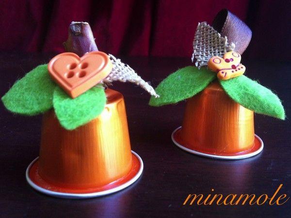 Nespresso capsules pumpkins