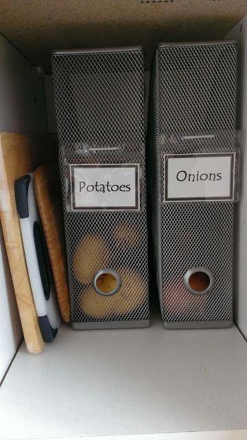 Genialer Hack Zur Platzsparenden Aufbewahrung Von Kartoffeln Und