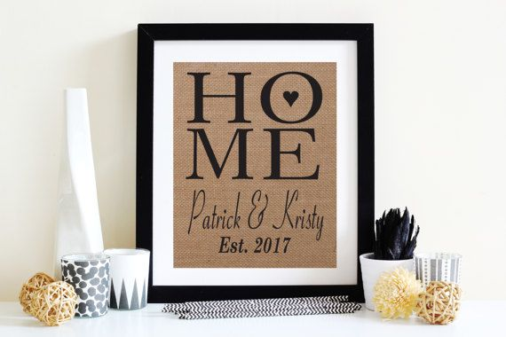 Gift Idea: Absolutely Gorgeous House Warming Or Wedding Gift Housewarming |  Wedding | Bridal Shower