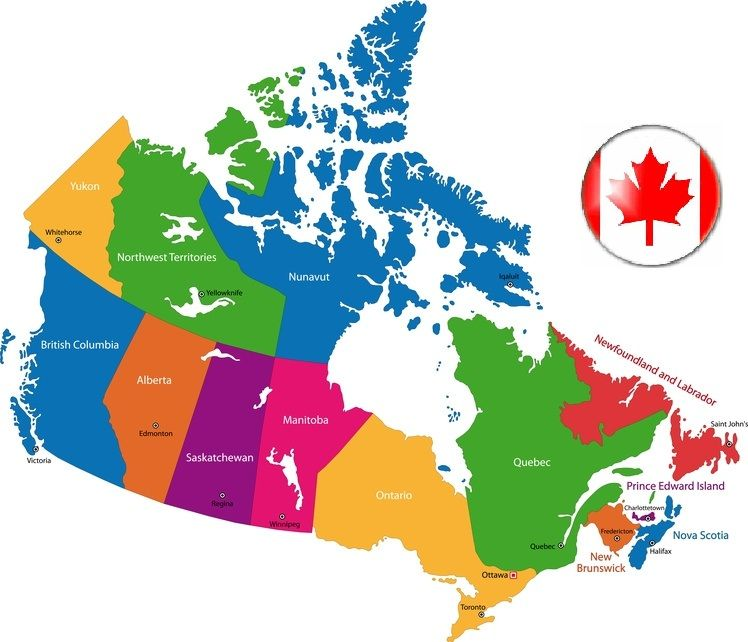 Road Trip Across Canada Plan Your Road Trip In Canada Canada Map Canada Road Trip Canada