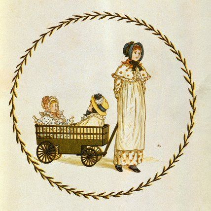 Little Ann and other poems, by Kate Greenaway (V&A Custom Print)