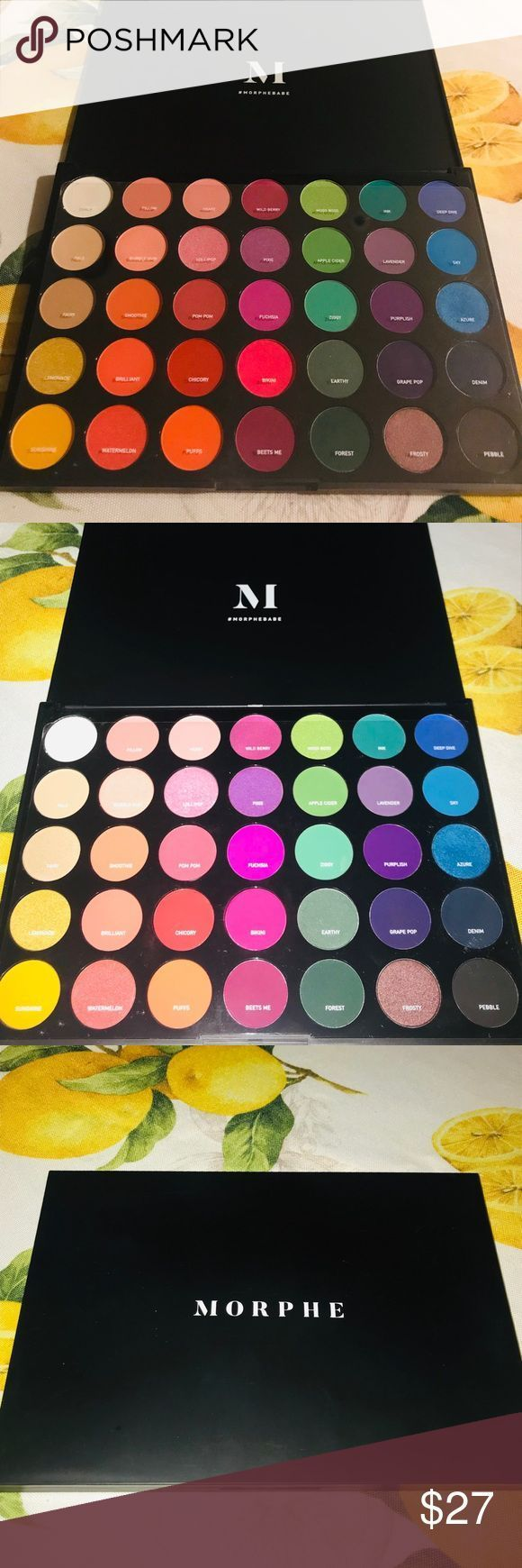 MORPHE 35B COLOR BURST ARTISTRY PALETTE Only been used one time Not availaBeaSkincare