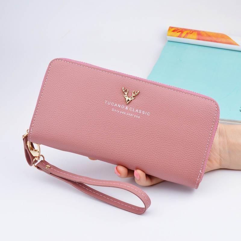 Card Holder Handbag Lady Bags Credit Long Women Leather Purse Wallet Clutch