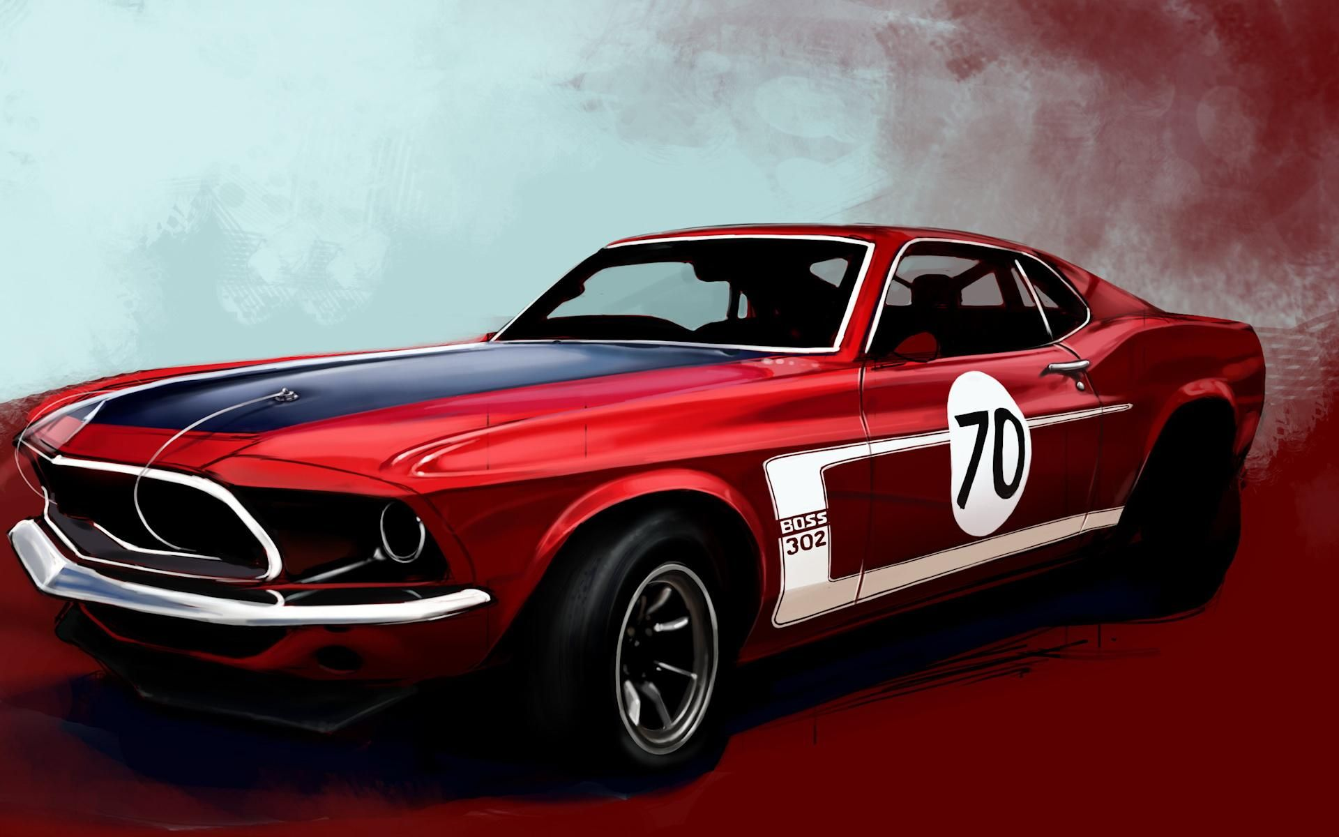 Muscle Car Wallpapers Full Hd Wallpaper Search Page 2 Red