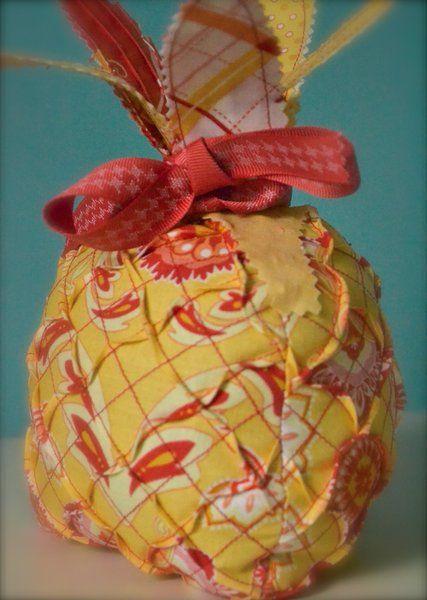 Riley Blake Designs -- Cutting Corners: Prickly Pineapple PinCushion ...