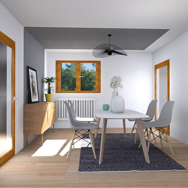 Décoration d\u0027intérieur Strasbourg - Visuel 3D pour une salle à - decoration de salle de sejour