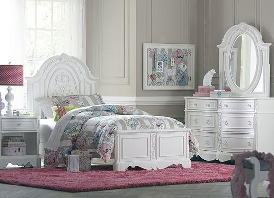 Bedrooms, Isabella Twin Panel Bed, Bedrooms | Havertys Furniture ...