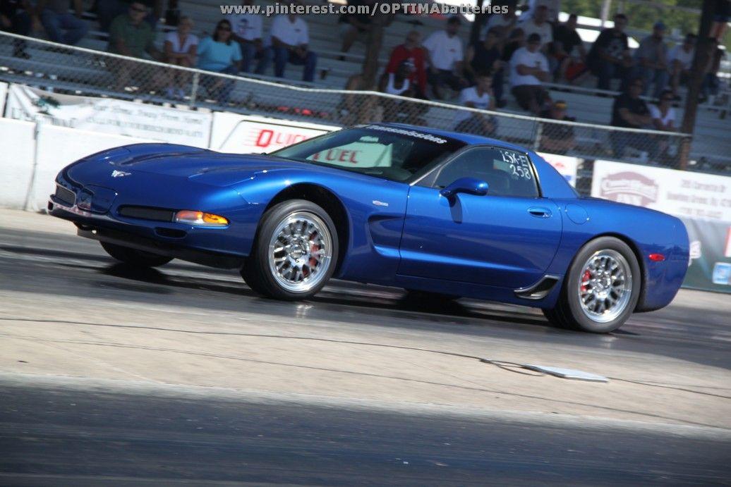 Pin By Optima Batteries On Corvettes Corvette Corvette Z06 Drag Racing