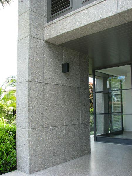 Large Format Terrazzo Exterior Cladding