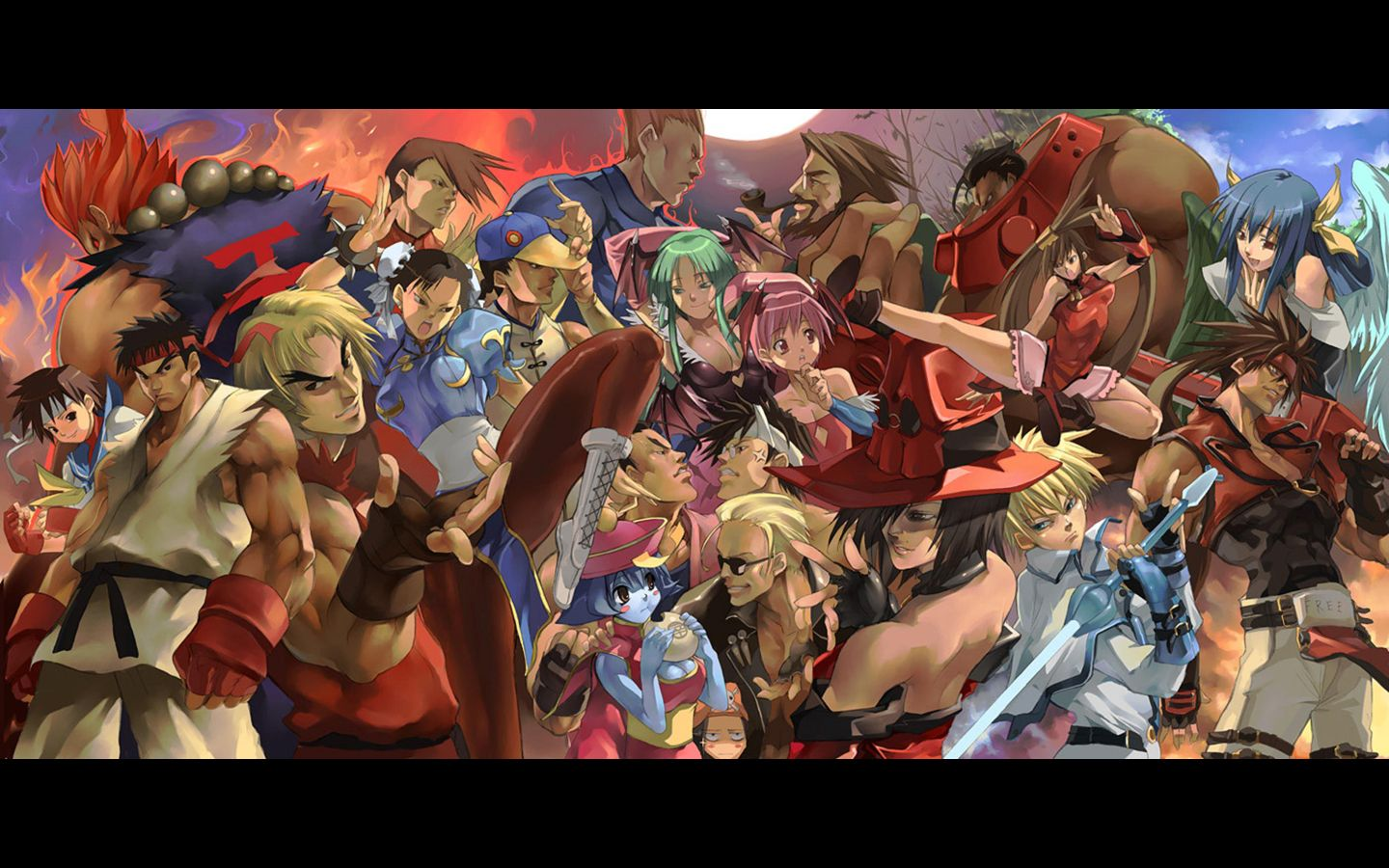 Wallpaper street fighter anime wallpaper hd pinterest street wallpaper street fighter voltagebd Choice Image