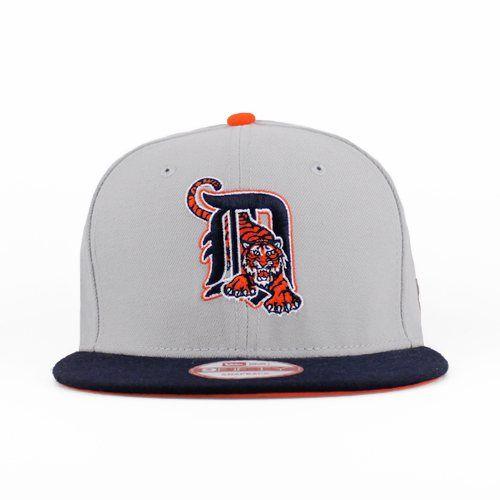 size 40 c0126 411c9 Detroit Tigers Gray, Navy, Orange SNAPBACK New Era 9fifty