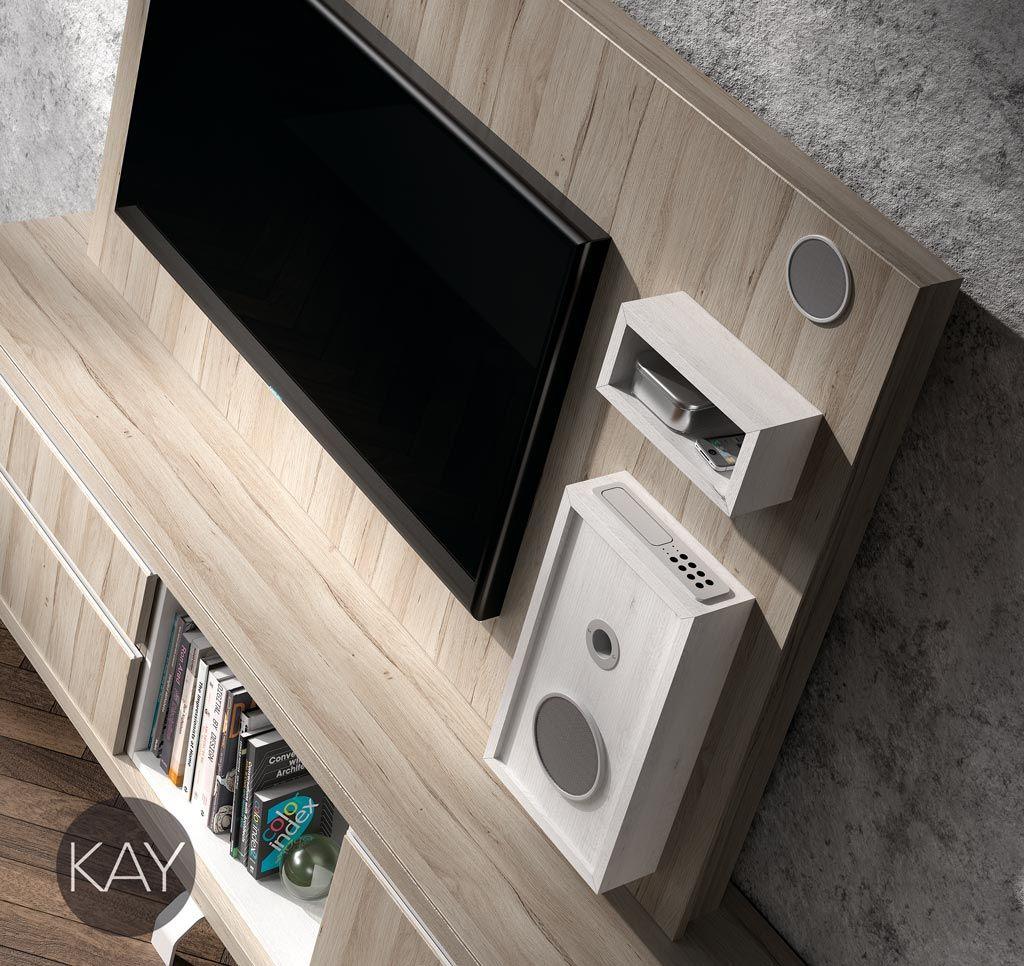 Paneles Para La Televisi N Descubre Lo Pr Cticos Que Son  # Muebles Baixmoduls
