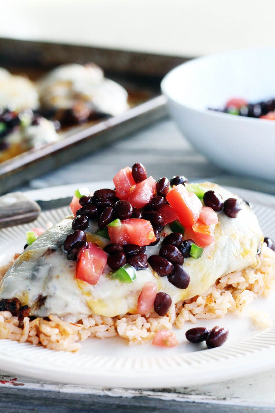 Cheesy Southwestern Grilled Chicken Buy This Cook That Food