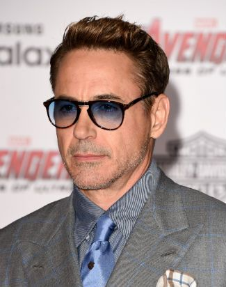 """Robert Downey Jr. at the World Premiere of """"Avengers: Age of UItron,"""" April 13, 2015 in Hollywood"""