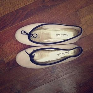 London Sole Shoes - London Sole beige flats
