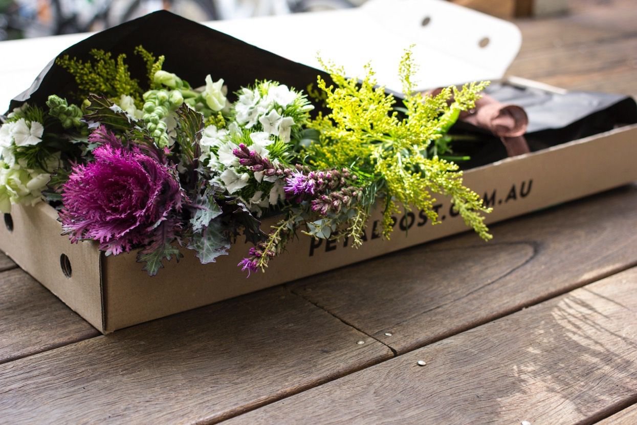 Beautifully wrapped, your blooms are delivered with eco