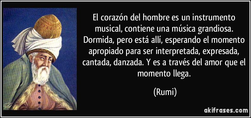 El Corazon Del Hombre Es Un Instrumento Musical Contiene Una Musica