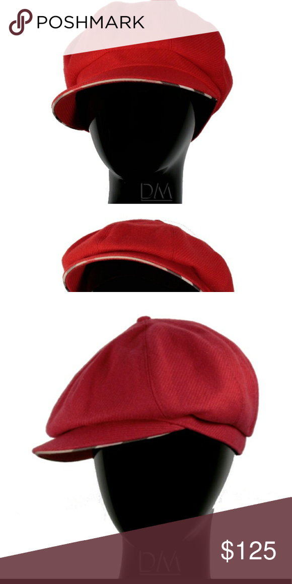 Burberry hat Burberry Womens Hat Jude Cap Wool Cap (BURHAT030) Material   90% Merino Wool   10% Cashmere Color  Fuschia Details  Size Pictured   Medium 100% ... d90abed4f74b