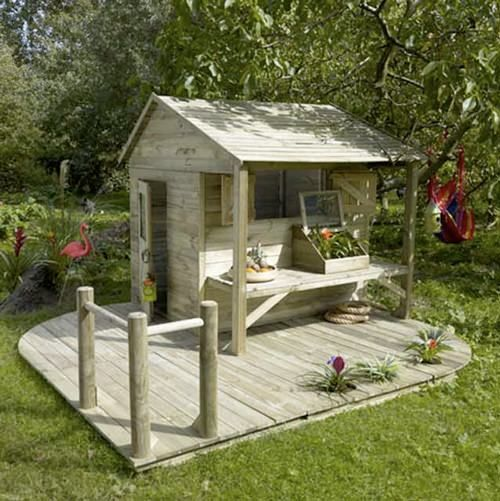 Handmade Charlotte Hintergarten Spielhaus Garten Garten