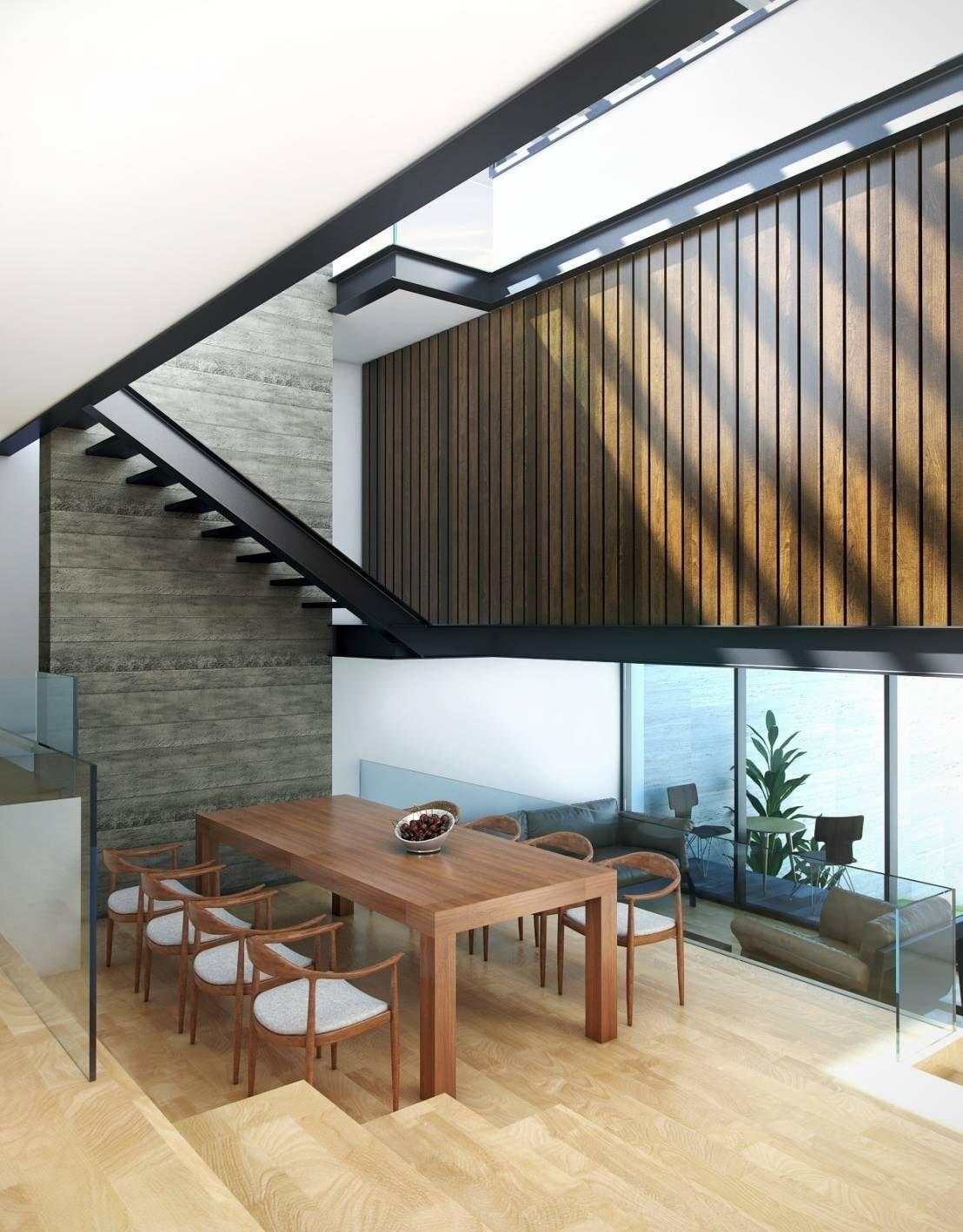 Comedores modernos de Taller Habitat Arquitectos   Casa de ...