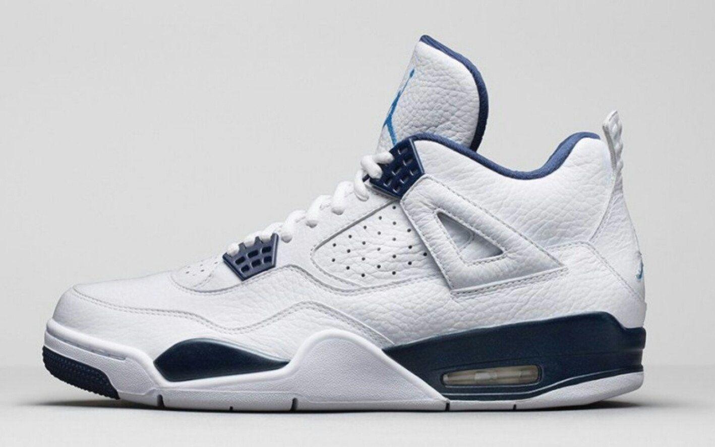 cheap for discount 814f6 93cb0 Air jordan retro 4 legend blue in 2019 | Shoes | Air jordans ...