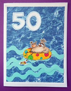 Kika's Designs : Margarita Card