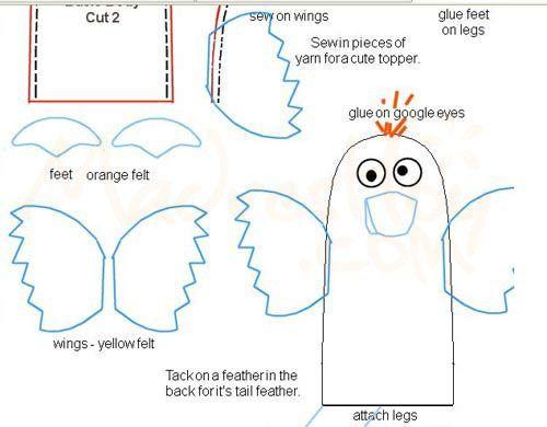 Resultado de imagen para moldes patrones titere gallo