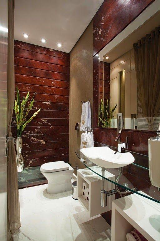 30 lavabos pequenos e modernos veja dicas de como ousar On decoracion lavabos pequeños