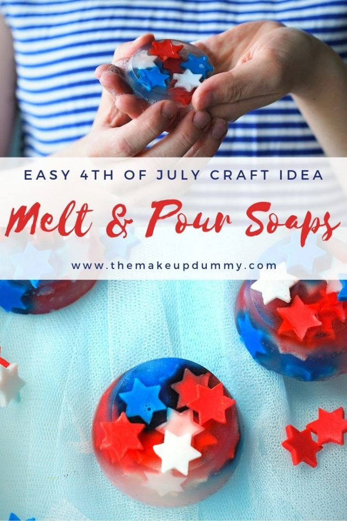 surprising red and white bathroom   Red, White & Blue Stars Melt and Pour Soaps (4th of July ...
