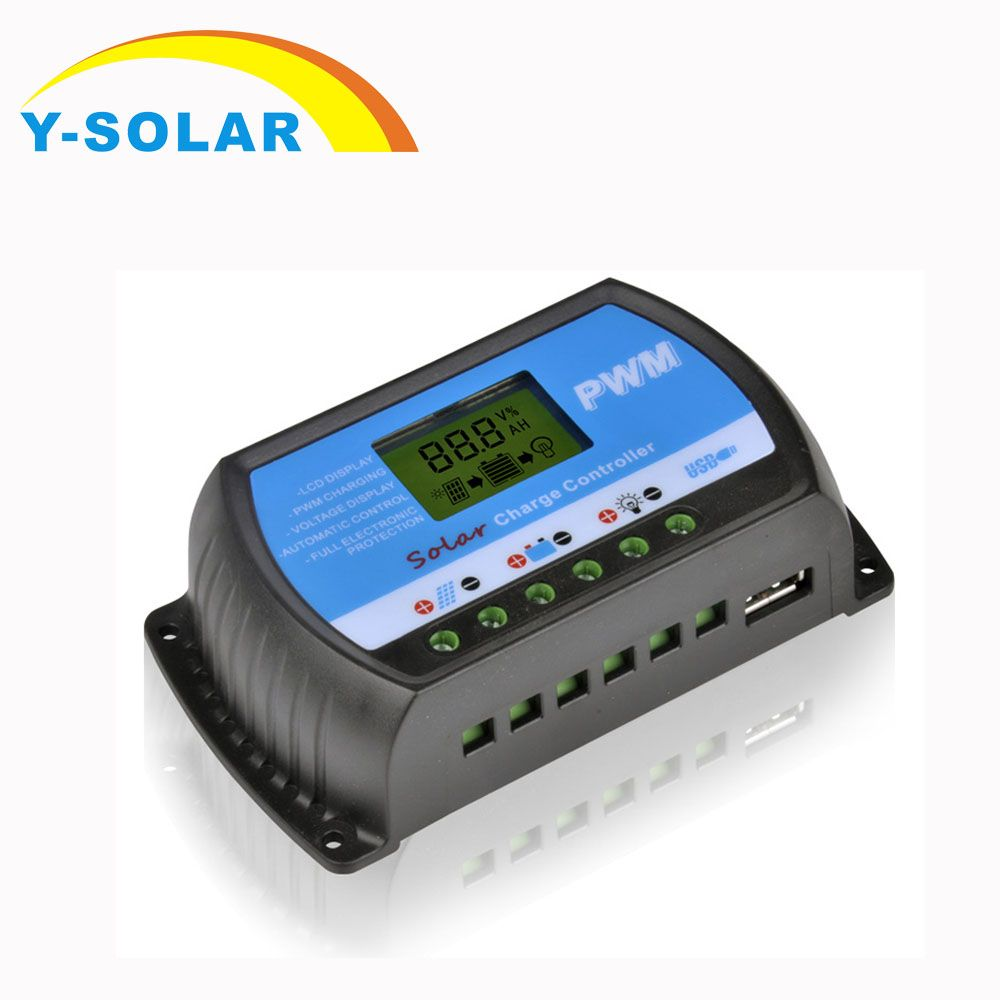 30a 20a 10a Solar Charge Controllers Lcd Pwm With Dc 5v Usb 12v 24v Auto Switch Solar Panel Voltage Regulator Rt Solar Panel Charger Solar Panels Solar Charger