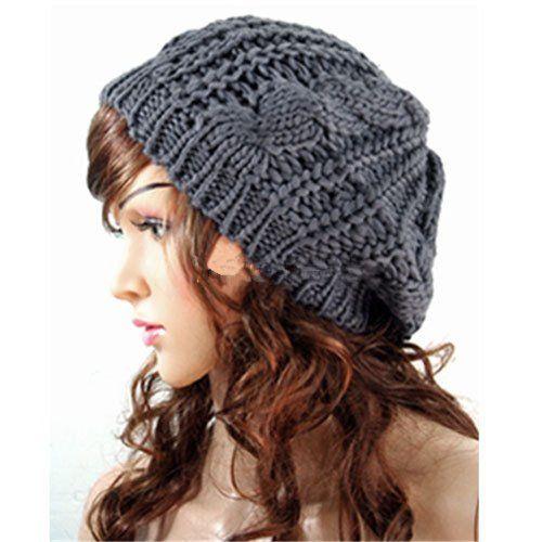Women Lady Winter Warm Knitted Croche...