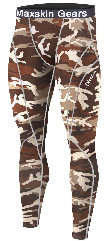 26c07bd121d0d New Men Skin Tights Compression Base Under Layer Sports Running Long Pants  (2XL, MSP012