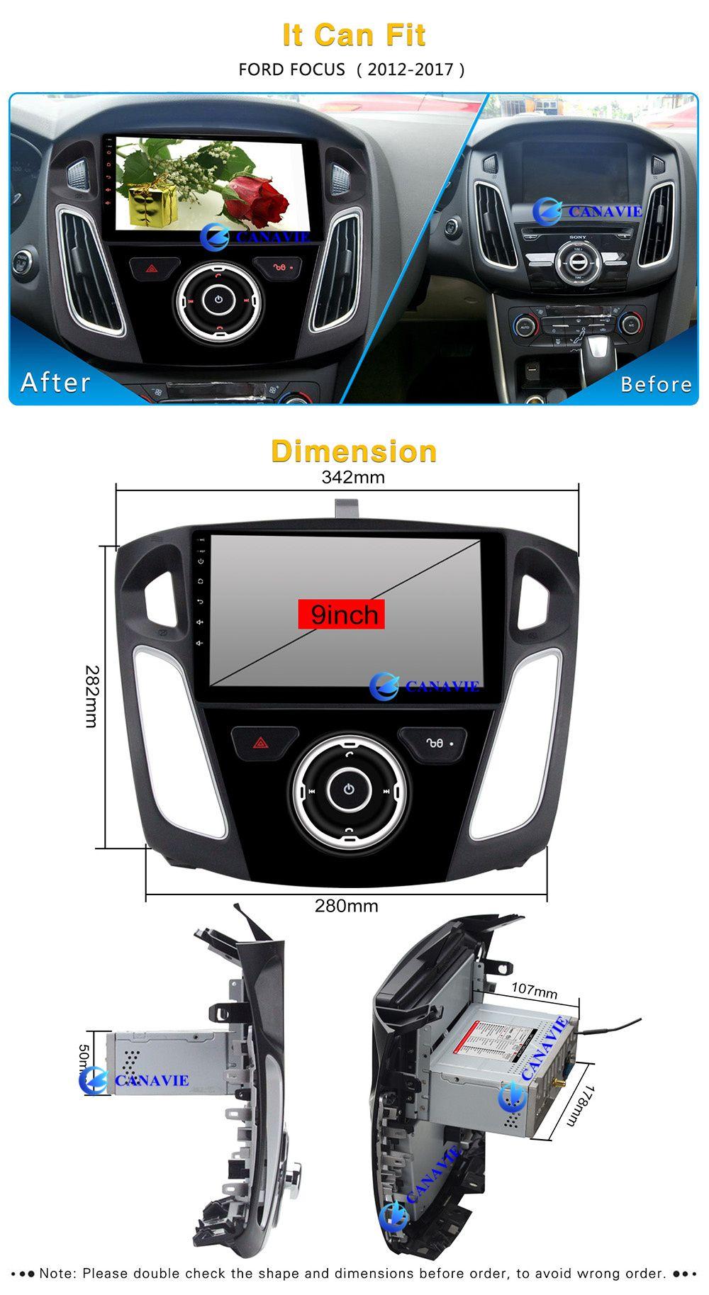 9 Android Autoradio Car Multimedia Stereo Gps Navigation Dvd Radio Audio Head Unit Ford Focus 3 2012 2013 2014 2015 2016 2017 Gps Navigation Ford Focus Head Unit