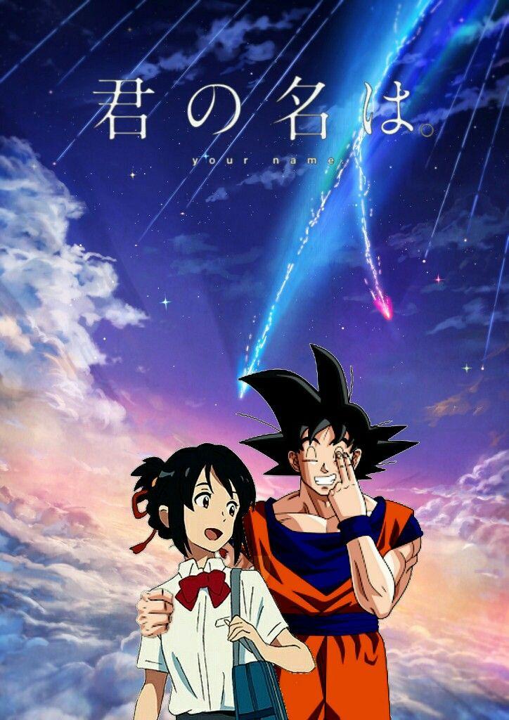 kimi no na wa Z (mitsuha and goku) Kimi no na wa, Anime