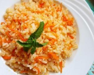 Riz aux carottes et curcuma au Cookeo